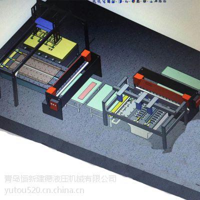 剪板机自动生产线辅助剪板机自动化生产加工恒新建德