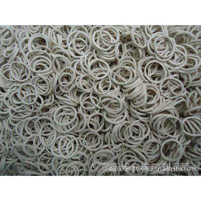 生产环保橡胶圈;白色胶圈橡皮筋橡胶圈 扁皮筋批发
