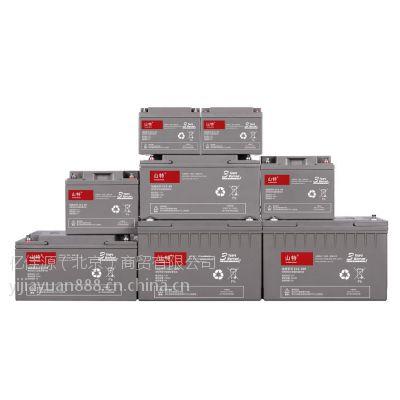 山特城堡系列C12-65山特12伏65安时蓄电池