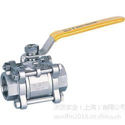 上海沃茨球阀Q11F三片式内螺纹球阀