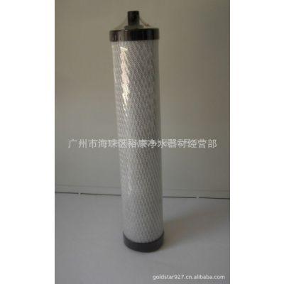 供应锁牙滤芯 8寸 10寸 锁牙 烧结炭滤芯  适应于道尔顿陶瓷滤芯滤壳