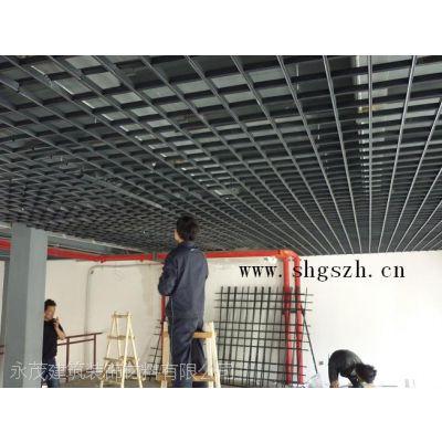 宁波鄞州铝格栅吊顶,铝扣板吊顶,铝合金龙骨吊顶