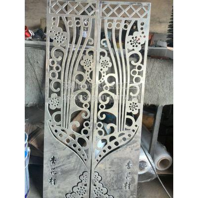 深圳水切割加工 铝板镂空雕花 铜板镂空雕花