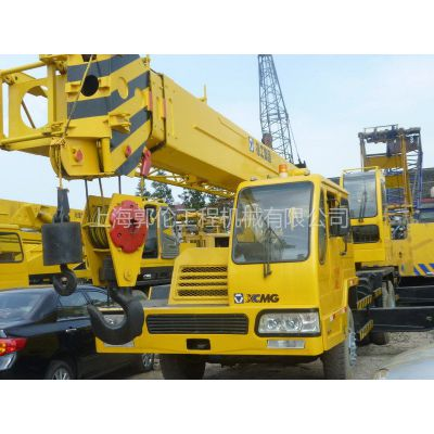 华东二手机械市场供应徐工25吨吊车
