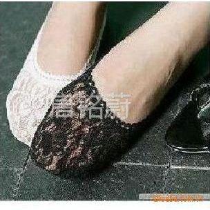 供应蕾丝花边 船袜 隐形袜 打底袜 黑色/白色/肤色 22g