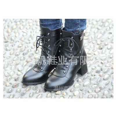 供应特价!新款冬季女鞋正品真皮保暖鞋低跟短靴 女靴女棉靴 5806