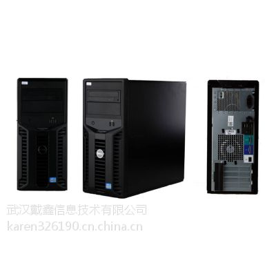 戴尔PowerEdge T110 II小型塔式服务器(E3-1220V2/8GB/500G)