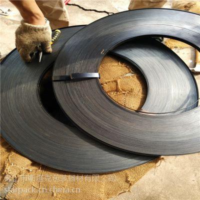 厂家直销铁皮打包带19mm,铁皮带,烤蓝钢带 镀锌钢带铁皮带