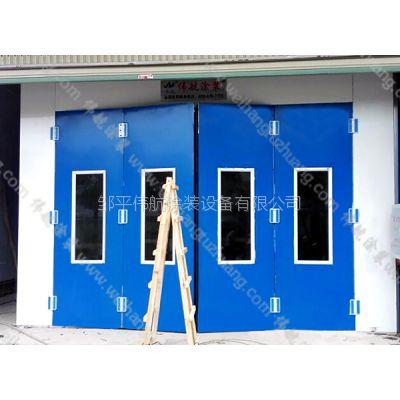 伟航|连体式喷漆烤漆打磨房|定制豪华型电加热60度80℃全喷塑喷烤漆房
