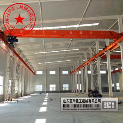 供应淄博销售1吨-25吨电动单梁起重机价格 1吨单梁行车报价 2吨单梁航吊 3吨天车多少钱