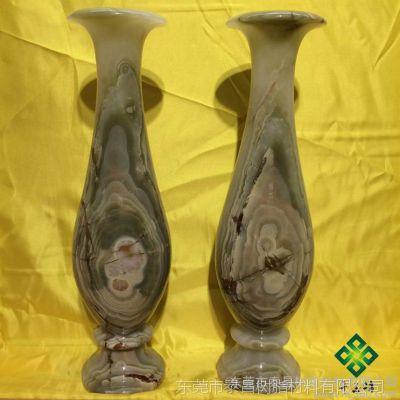 供应仿玉石花瓶 高档家具摆饰 工艺品摆饰 仿玉工艺品