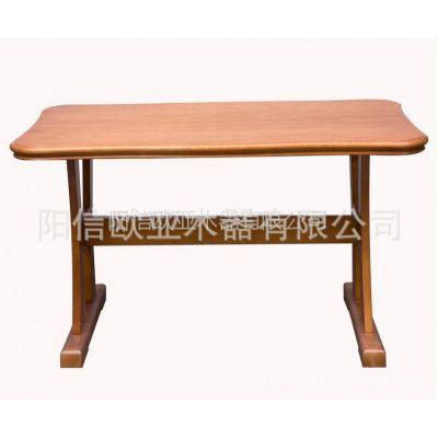 供应100%纯实木餐桌椅一桌六椅餐厅家具桌子椅子