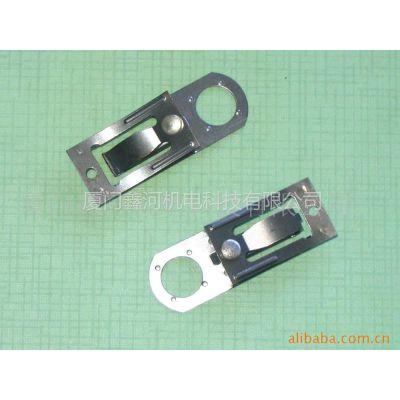 供应可调式温控器弹片(银触点自动焊接)