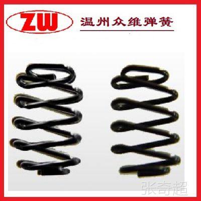 波浪/波形  多折弹簧 不锈钢 65M钢材质 0.5/0.6/0.8/1 弹簧定做