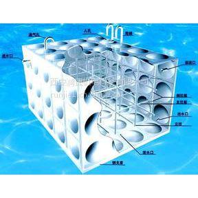 华阴水箱加工 RB-3华阴组合式不锈钢水箱厂家 润捷水箱