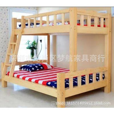 供应2014年梦航家具新品上下铺双层床带储物功能子母床批发零售