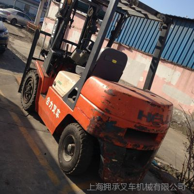 二手叉车7-9成新 柴油叉车3-5吨价格优惠 上海华东二手叉车市场