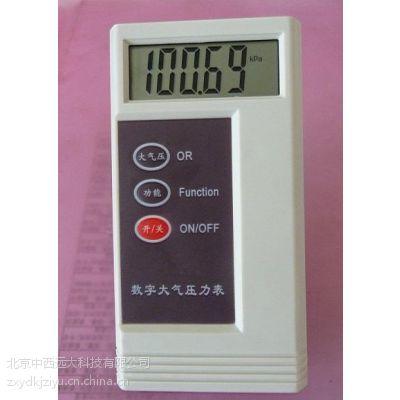 中西供数字大气压力表(温度加压力) 型号:m403612