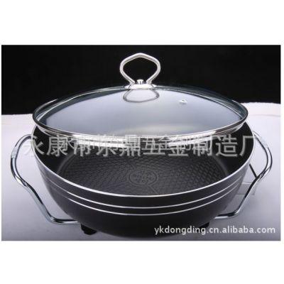 供应新款 欧式多功能电热锅 电火锅 电烤炉 电饼铛 电煎锅 萨饼锅