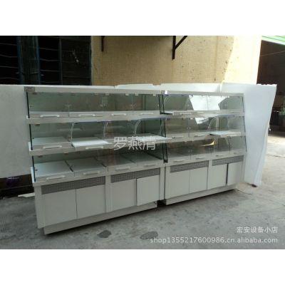 供应面包展示柜、蛋糕柜、冷藏柜、寿司柜、超市陈列柜、冰淇淋机
