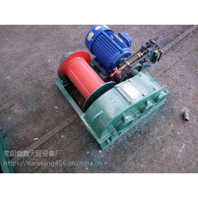 江苏张家港天旺一吨建筑用自动单卷筒卷扬机械大量批发