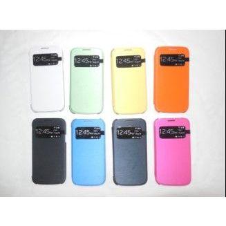 供应S4MINI手机保护套 智能皮套 盖世四手机壳 迷你皮套