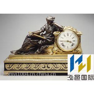 法国古董铜雕进口报关代理