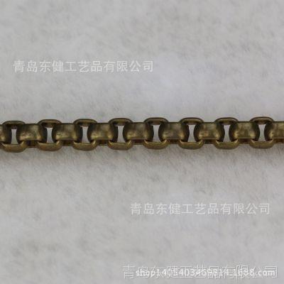 【青岛东健链条】厂家饰品链条 6.0R 韩国环保配件 服装箱包链条