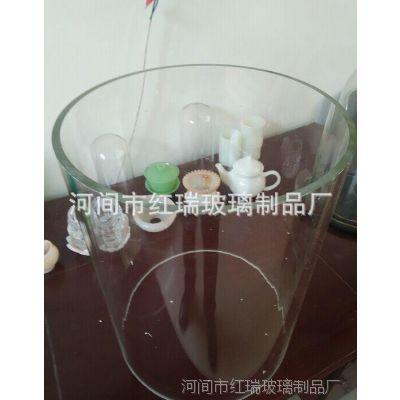 厂家直销大口径厚壁玻璃管  视筒  高硼硅玻璃管