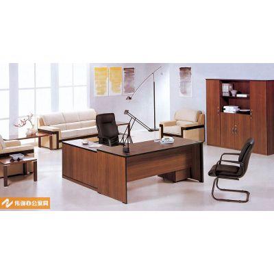供应新款大班台 主管桌 经理桌 上海办公板式家具工厂 可定制