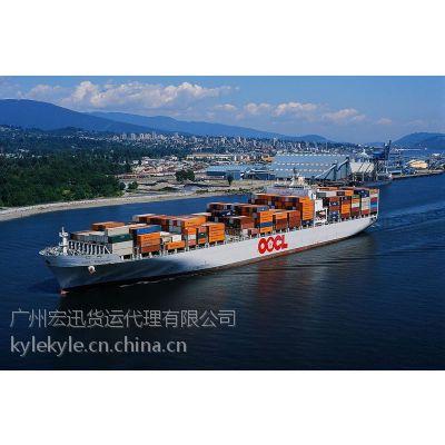 供应广州到墨尔本的海运布料需要多长时间