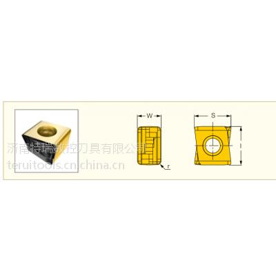伊斯卡蝴蝶插齿铣刀片HTP LNHT1606ER IC928 加工钢件 不锈钢铸铁