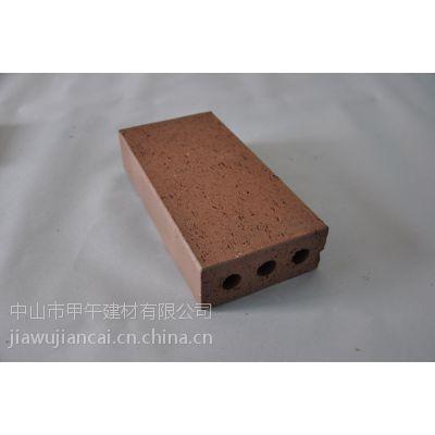 厂家供应各种园林景观和房地产地面用的烧结砖和广场砖以及透水砖和窑变砖