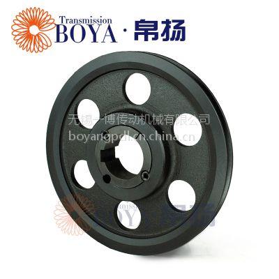 伺服电机皮带轮采购spa630-01选无锡帛扬锥套皮带轮厂家