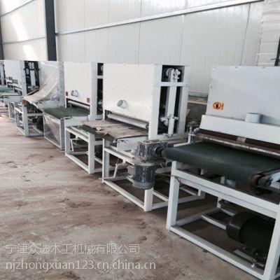 定做400宽定尺砂光机 众选木工砂光机 木工机械设备