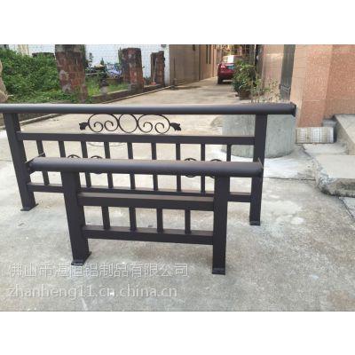 厂家直销 房地产楼盘铝合金工程护栏 阳台栏杆