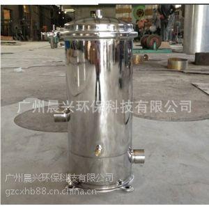供应不锈钢过滤器厂家 优质精密过滤器 滤芯式过滤器 5芯20寸保安过滤器