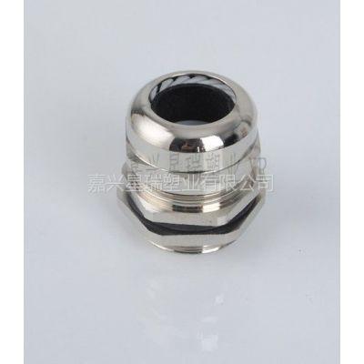 供应金属电缆防水接头,电缆葛兰头,黄铜镀镍型电缆接头