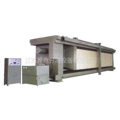 供应造纸污泥处理怎么选压滤机全自动隔膜复合橡胶板压滤机