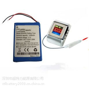 3.7V 2800mAh 医疗仪器锂电池 激光治疗仪电池组
