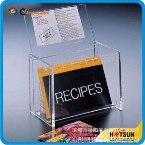 供应厂家生产定做亚克力翻盖名片盒 名片盒亚克力