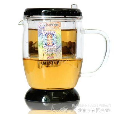 金灶弹压式玻璃茶道杯/飘逸杯  TP-340
