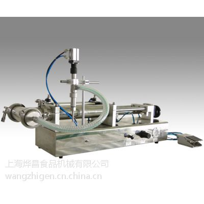 半自动灌装机 上海祥博液体灌装机