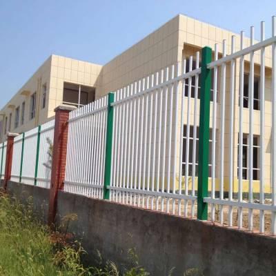 海南铁路项目部围栏 海口旅游区护栏 简易拼装式锌钢铁栅栏 炎泽隔离带