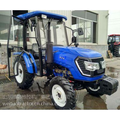 供应优质山东潍坊生产65马力拖拉机 四缸发动机四轮驱动 604