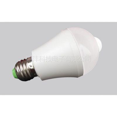 供应led室内灯具-人体感应LED球泡灯|节能灯-厂家批发