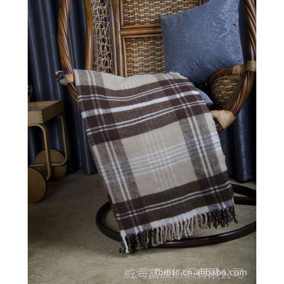 厂家直销冬季加厚盖毯/新西兰羊毛毯 零售毯子