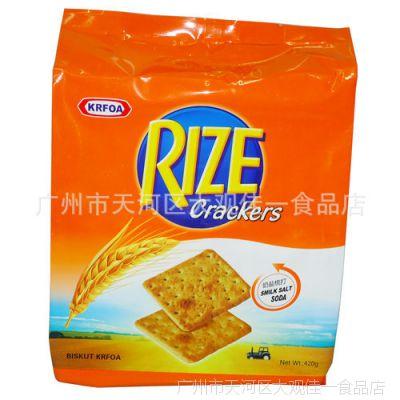 香港卡夫梳打饼干奶盐味420g*16包/组