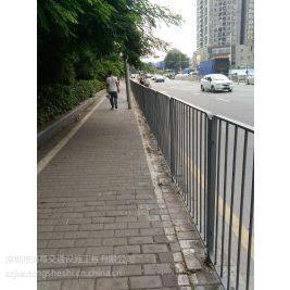 深圳港式护栏厂家/鸿粤道路新型隔离栏/HY-20现货港式护栏