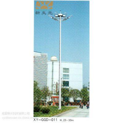 绵阳新炎光牌学校体育馆20米800WLED球场专用高杆灯定制公司
